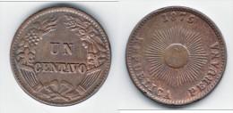 **** PEROU - PERU - 1 CENTAVO 1875 **** EN ACHAT IMMEDIAT - Pérou