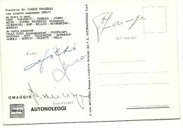 Autografi Di Invernizzi + Vieri + Boninsegna, - Autografi