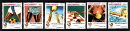Mozambique MNH Scott #1024-#1029 Set Of 6 1988 Summer Olympics Seoul - Mozambique