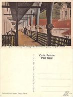 Cipro Cyprus - Rykkos - Monastery - View Of The Vestibule (A-L 287) - Cartes Postales