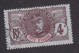 Ivory Coast, Scott #23, Used, Gen. Louis Faidherbe, Issued 1906 - Oblitérés