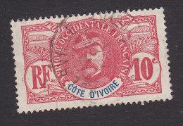 Ivory Coast, Scott #25, Used, Gen. Louis Faidherbe, Issued 1906 - Oblitérés