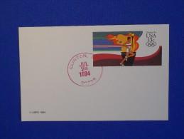 Postal Stationery, Olympics 1984, Clinton - Zomer 1984: Los Angeles