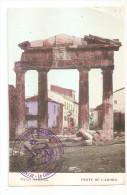 Marcophilie - Grece - Greece - Cachet Détachement De Coa Du Corps De Débarquement D´orient 1915 - Marcophilie (Lettres)