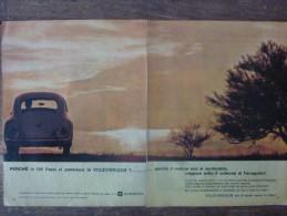 ADVERTISING PUBBLICITA´ VOLKSWAGEN NON SI SURRISCALDA NEANCHE AD AGOSTO -- 1963 -  OTTIMO - Werbung