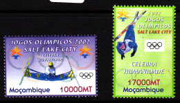 Mozambique MNH Scott #1517-#1518 Set Of 2 2002 Winter Olympics Salt Lake City - Mozambique