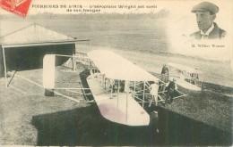 Les Pionniers De L ´Air  -  Aéroplane Wright Est Sorti De Son Hangar       AD211 - ....-1914: Precursori
