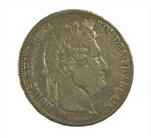 France - 5 Francs - Louis Philippe I  -  1834 H  - La Tochelle   - Argent - TB - - France