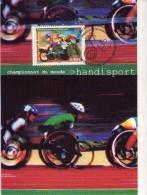 Handisport-Championnat Du Monde-France 2002-  Carte Maximum- - Handisport