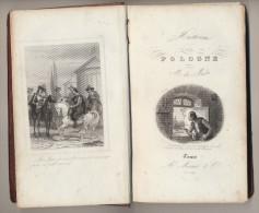Libro Book 1846 - HISTOIRE DE POLOGNE , DE MARLES , Imprimerie De Mame Tours - 1801-1900