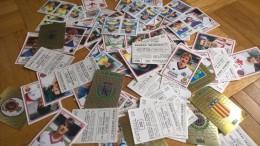 Figurine Panini 1986 - Set 3 -  Fußball - Football - Trading Cards