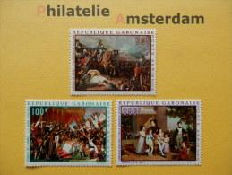 Gabon 1969, NAPOLEON / ARTS: Mi 330-32, ** - Napoleon