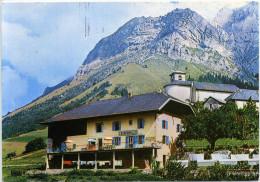 """74 - Montmin ; Col De La Forclaz ; Auberge """"Au Chardon Bleu"""". - Francia"""