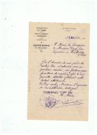 COMMANDE DE FOURNITURES SCOLAIRES COMMUNE DE SASSEGNIES  ( NORD) 1948 - France