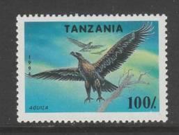 TIMBRE NEUF DE TANZANIE - AQUILA N° Y&T 1656 - Aigles & Rapaces Diurnes