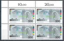 1993 ALLEMAGNE FEDERALE 1522** Radio, Oeil, Oreille, Bloc De 4 - [7] West-Duitsland