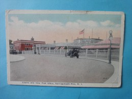 NARRAGANSETT PIER  Casino And New Post Office - Etats-Unis