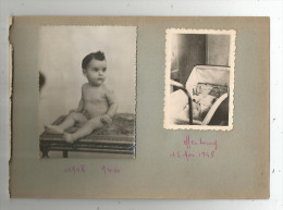 Page D´un Album De Photos , Recto Verso , Enfants , Bébés , OFFENBURG , 1948 , LOT DE 4 PHOTOGRAPHIES , Frais Fr : 2.70€ - Personnes Anonymes