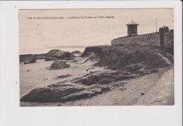 CPA - ST SAINT NAZAIRE - La Cote à La Pointe De Villès Martin - Saint Nazaire