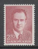 TIMBRE NEUF DU DANEMARK - 50EME ANNIVERSAIRE DU PRINCE HENRIK DE DANEMARK N° Y&T 813 - Familles Royales