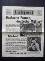 WWII WW2 Propaganda Tract Leaflet Flugblatt G.26, Luftpost Extrablatt, Nummer 42, FREE SHIPPING WORLDWIDE - Vieux Papiers