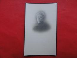 Doodsprentje Deinze, Maria Baert,  Geboren 1858, Overleden Te Antwerpen 1924 - Imágenes Religiosas