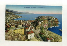 - MONACO . VUE GENERALE DE LA PRINCIPAUTE - Monaco