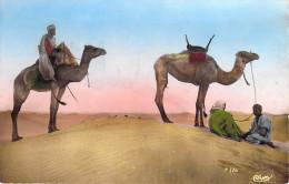 -Algérie Collection Artistique L´Afrique- La Halte(CIM Combier Cliché R.PROUHO  N°1037)*PRIX FIXE - Scènes & Types