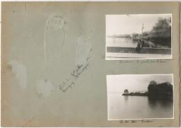 Page D´un Album De Photos , Allemagne , Lindau  , LOT DE 2 PHOTOGRAPHIES, Frais Fr : 2.70€ - Lieux