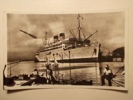 Carte Postale - Transatlantique S/S COLOMBIE - Le Havre Southhampton Antilles.....Bâteau Marine (68) - Paquebots