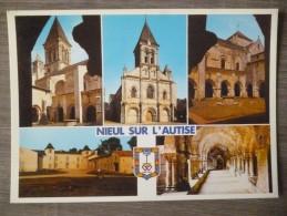 NIEUL SUR L'AUTISE  (85). MULTIVUE ET ECUSSON . ANNEES 1980 - Francia