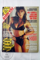 1988 Spanish Men´s Magazine - Sabrina Salerno Cover Girl And Nude Pictures Inside - Le Foto Di Gioia - [2] 1981-1990