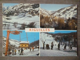 AIGUILLES  (05). MULTIVUES . ANNEE 1976.TBE. - France