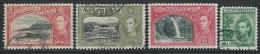 Trinidad & Tobago   1938-40   Sc#52, 58-60  4 Diff Better Used  2016 Scott Value $4.50 - Trinité & Tobago (...-1961)