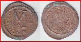 **** BYZANTINE - FOLLIS JUSTINIEN I 527 / 565 CONSTANTINOPLE ANNO XIII **** EN ACHAT IMMEDIAT !!! - Byzantine