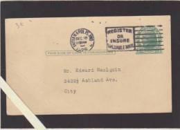 Etats Unis - Indianapolis - Entier Postal, Alliance Francaise - Invitation Au Verso 1926  - Voir Etat - Indianapolis