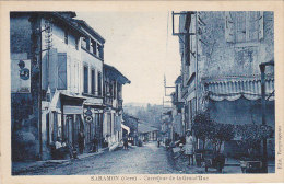 Saramon 32 - Carrefour Grande Rue - Editeur Bergougnan - Non Classés