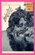 """Itapita Punta Cerca De Ascucion - Timbre Avec Cachet """" HABILITADO En 0,50 """" - Fototipia THOMAS - 1920"""