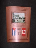 CUBA     1978   LOT# 28  CAPEX - Poste Aérienne