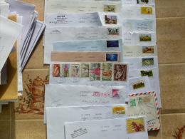 517 ENVELOPPES TIMBRÉES DE FRANCE - Poststempel (Briefe)