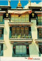 TIBETAN  ARCHITECTURE         (VIAGGIATA) - Tibet