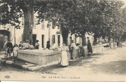 C P A  -   LA  CRAU  Le  Lavoir - La Crau