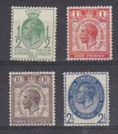 Great Britain 1929 UPU Congress 4v * Mh (=mint,hinged) (27298) - 1902-1951 (Koningen)