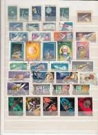North/South Korea,63V/20Bl,6 Scans;aerospace,ruimtevaart,luft Und Raumfahrt,,small Collection,Unused/Gestempeld(C008) - Ruimtevaart