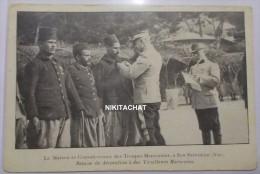 La Maison De Convalescence Des Troupes Marocaines à San Salvadour(83)-Remise De Décoration à Des Tirailleurs Marocains - Frankrijk