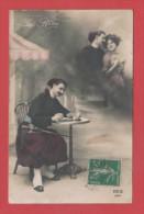 ET/32 Carte REX  N° 4044. Le Rêve // Zouave / Couple Patriotique - Timbre - Humoristiques