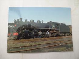 CHILI : Trains Vapeur Ferrocarrriles Estatales (LANCOCHE)  - Voir Les Scans Recto Verso - Trenes