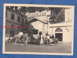 Photo Ancienne - COMO Per BRUNATE - Groupe D'automobile - FUNICULARE - Laggo Lombardia Italia - Automobili