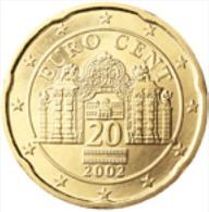 Oostenrijk 2009      20 Cent      UNC Uit De Rol  UNC Du Rouleaux  !! - Autriche