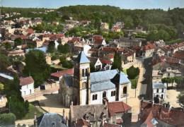Cpsm Soisy Sur Seine L'eglise - Otros Municipios